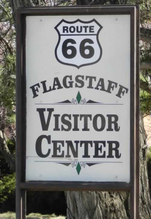 Route 66 visitors center in Flagstaff