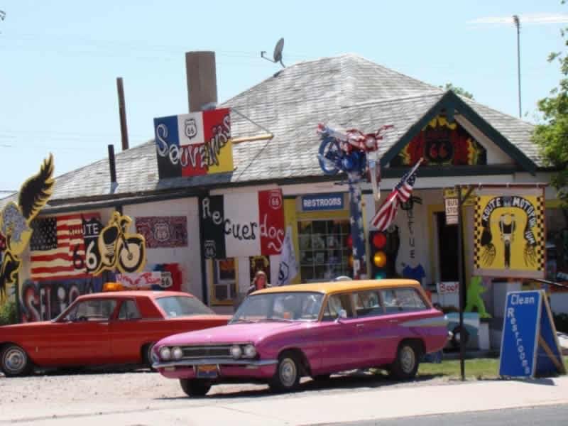 Shopping Paradise In Seligman Arizona Route