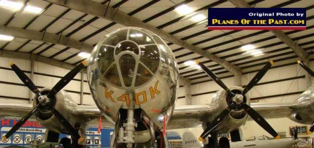 "B-29 Superfortress ""Sentimental Journey"" on display at the Pima Air and Space Museum"