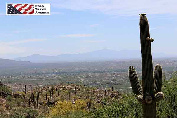 View of Tucson from the Mount Lemmon Scenic Byway