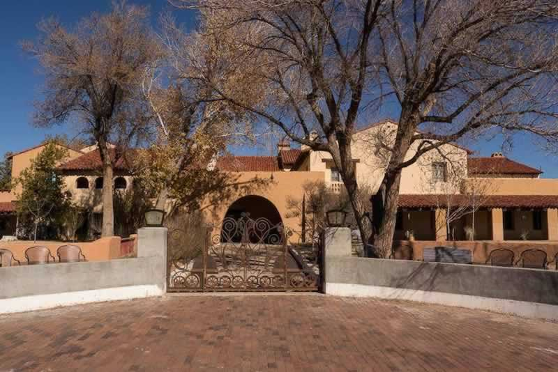 The historic La Posada Hotel, in Winslow, Arizona