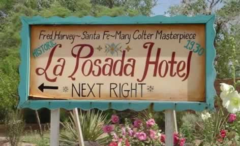 The La Posada Hotel, a Fred Harvey masterpiece in Winslow