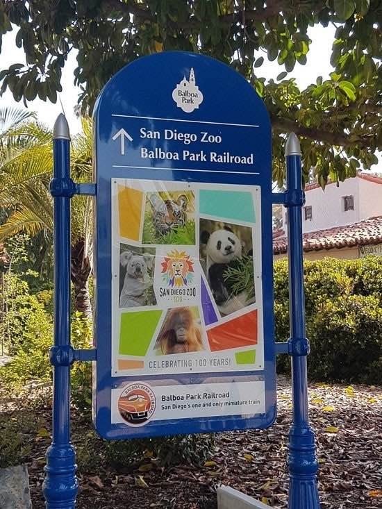 Balboa Park in San Diego, home to the San Diego Zoo and the Balboa Park Railroad