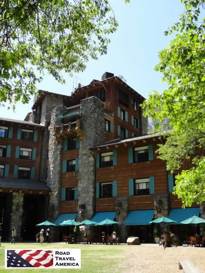 Exterior view of the Ahwahnee Hotel in Yosemite National Park