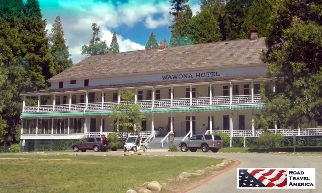 Wawona Hotel at Yosemite National Park