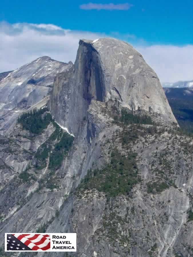 Half Dome in Yosemite National Park in California