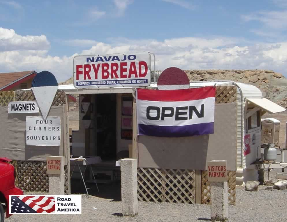 Navajo Frybread for sale at the Four Corners Monument