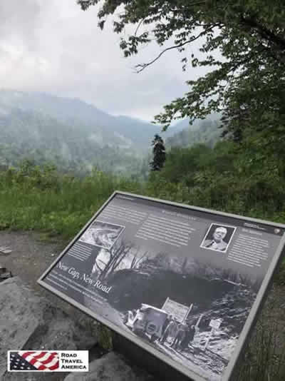 The Morton Overlook in the Great Smoky Mountains