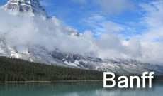Banff National Park in Canada, travel, directions, maps, lodging and things to do