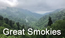 Great Smoky Mountains National Park travel, directions, maps, lodging and things to do