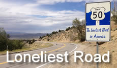 US 50 across Nevada ... the Loneliest Road in America