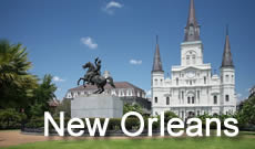 New Orleans, Louisiana ... The Big Easy with its French Quarter, aquarium and streetcars and Audubon ZOo
