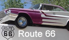 Historic Route 66 ... The Mother Road ... maps, history, things to see, photographs