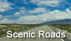 Scenic roads, byways and highways, with maps, directions and things to do