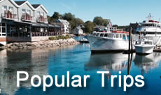 Popular trips and destinations in America, with maps, travel tips, photographs and lodging options