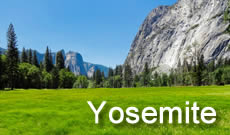 Yosemite National Park travel, directions, maps, lodging and things to do