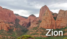 Zion National Park travel, directions, maps, lodging and things to do