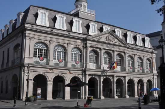 The Cabildo in the New Orleans French Quarter