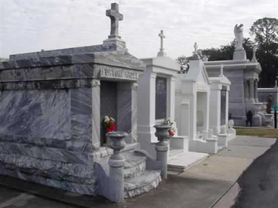 Historic cemetery in New Orleans