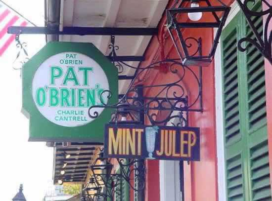 Pat O'Brien's in the New Orleans French Quarter