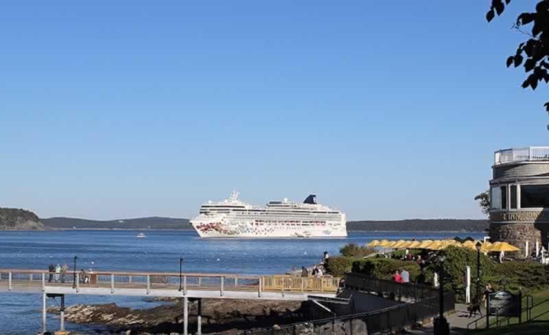 Travel To Bar Harbor Maine And Acadia National Park Location - Cruise ship bar harbor