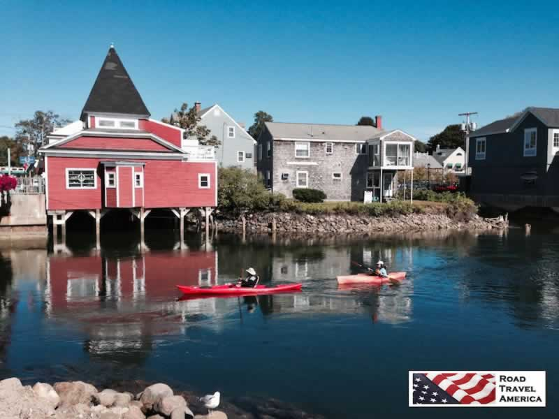 A perfect Staycation: Canoe trip along the quiet waters of Kennebunkport