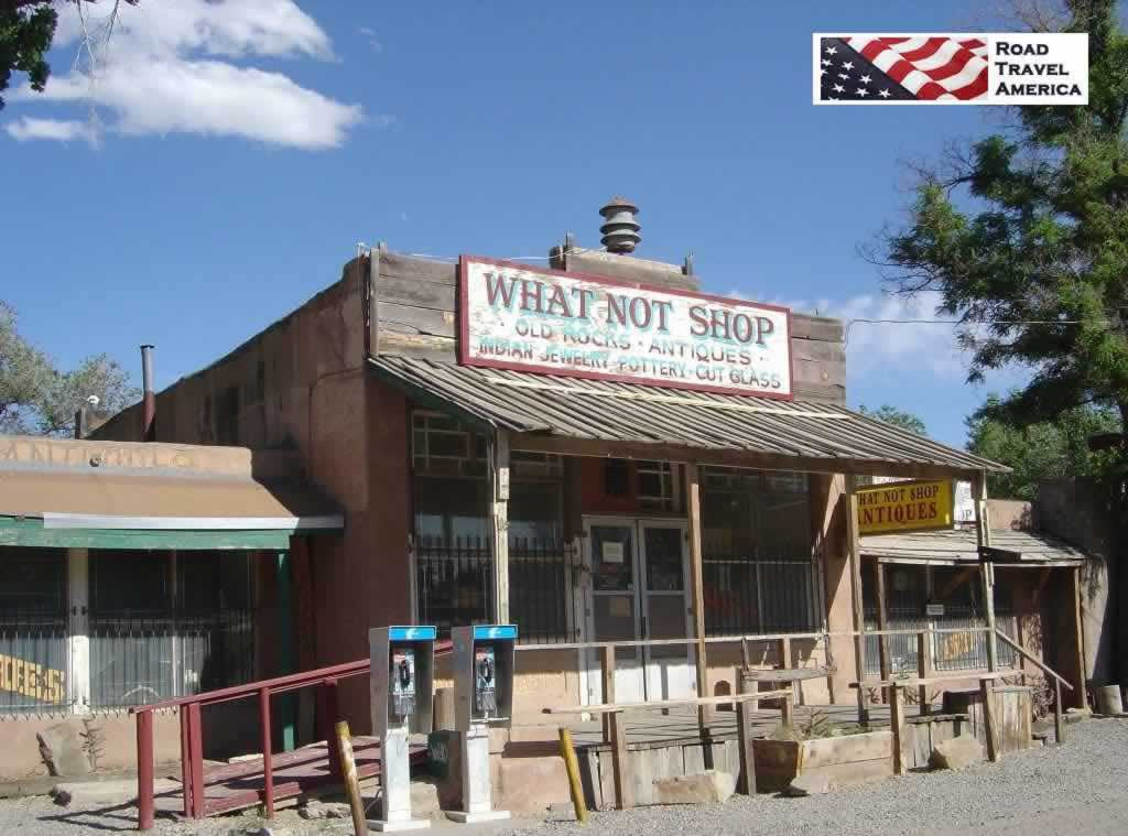 The What Not Shop along the Turquoise Trail in New Mexico