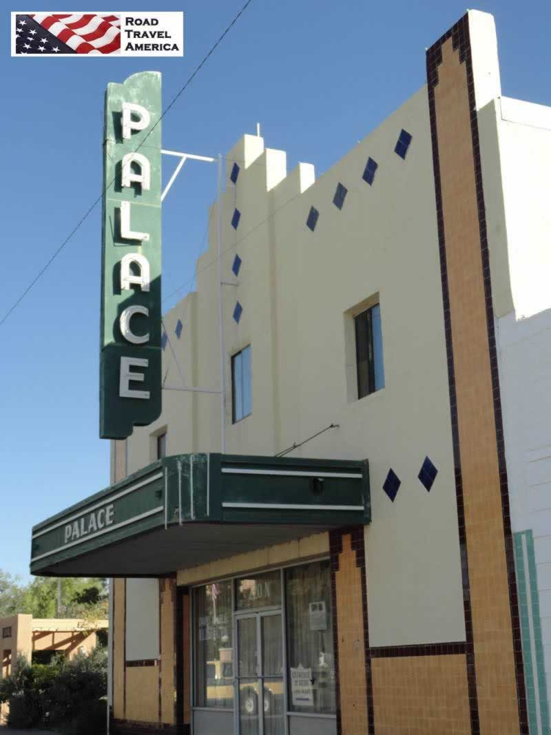 The Palace Theater in Downtown Marfa