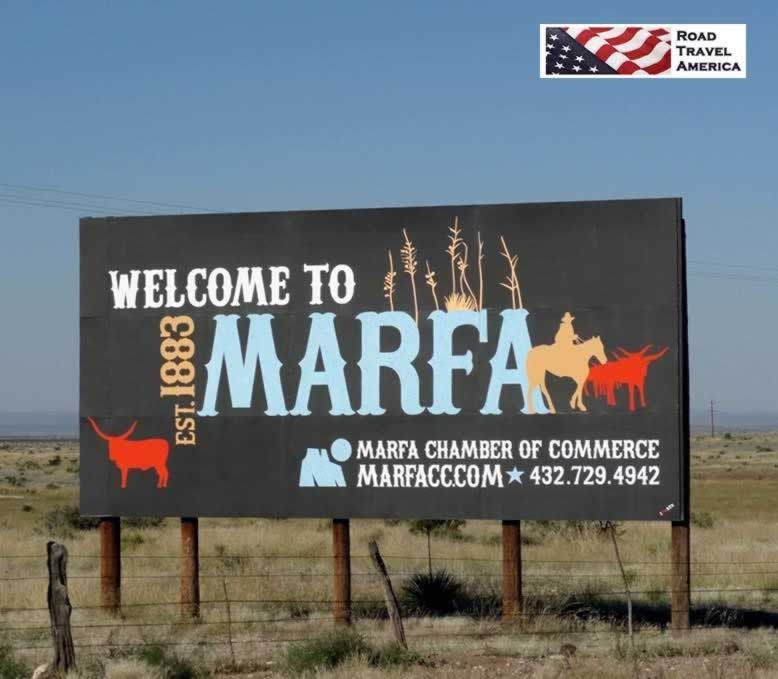 Welcome to Marfa ...Established 1883