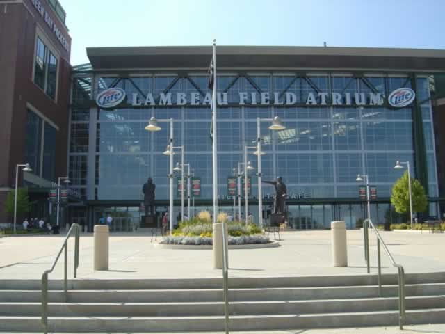 Lambeau Field Atriuim in Green Bay, Wisconsin
