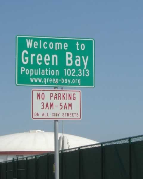 Welcome to Green Bay, Wisconsin