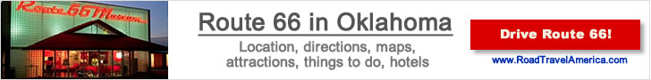 Visiting Oklahoma City and Tinker AFB?  Click for details about Historic Route 66 lodging options, attractions and maps
